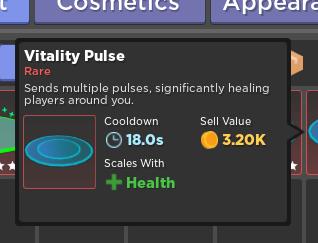 Vitality Pulse | Health Skill | Rumble Quest