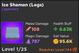 Ice Shaman (Legs) | Rumble Quest