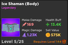Ice Shaman (Body) | Rumble Quest