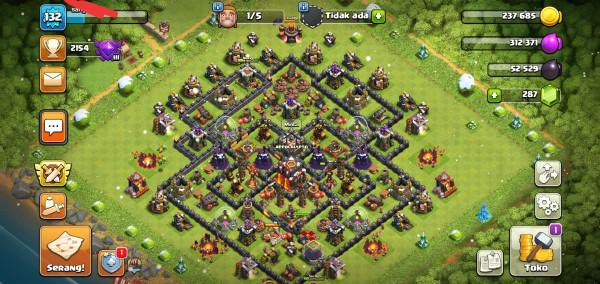 Clash of Clans TH 10 Hero GG murmer