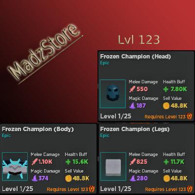 Frozen Champion [Warrior] - Rumble Quest