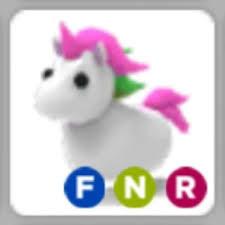 Pet Adopt Me Unicorn F N R (Ride,Fly,Neon)
