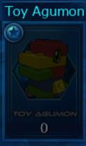 Seal Toy Agumon 3000 Pcs Server Barbamon