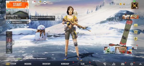 Akun PUBG | Set 30 + Skin M416 Glacier Lvl 2 Murah