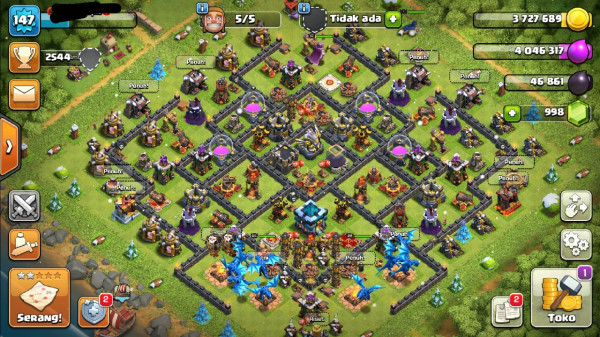 TH 13 TROOP MANTAP GEMS BUANYAKK SIAP WARR MURAHH