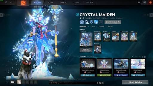 Forst Avalanche (Arcana Crystal Maiden)