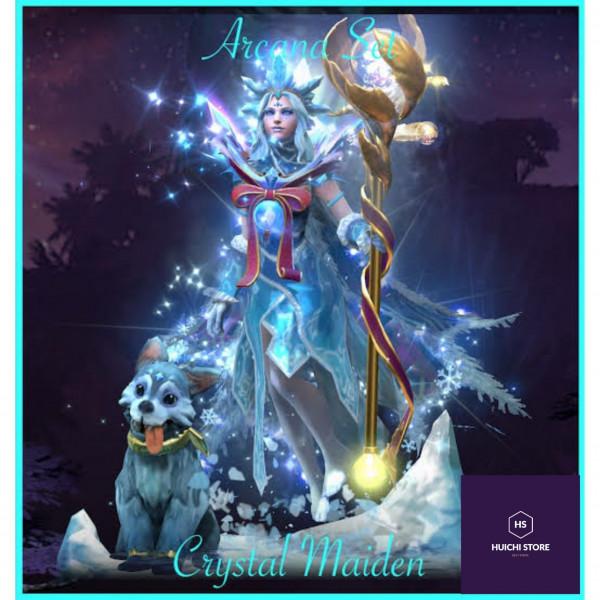 Golden Ice blossom ( Immortal Crystal Maiden)