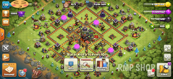 Town Hall 10 Login Google Play CN ON Wall Max