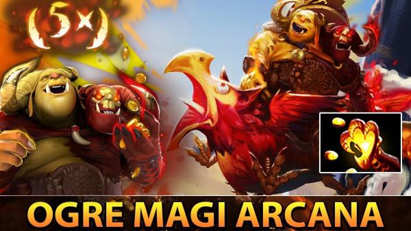 Exalted Flockheart's Gamble (Arcana Ogre Magi)