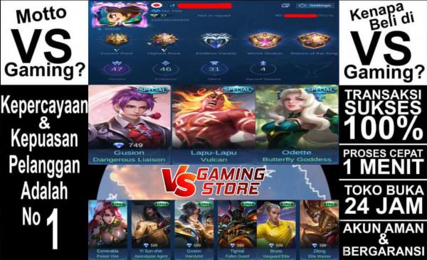 Akun Mobile Legends GG (Tag: #sultan #hero #GGWP)