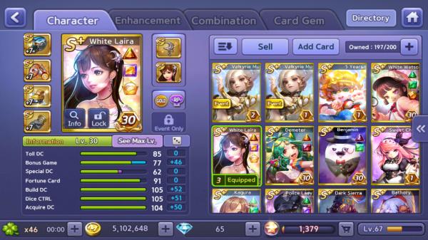 WhiteLaira+WhiteWatson+Wukong+Demeter+Kagura