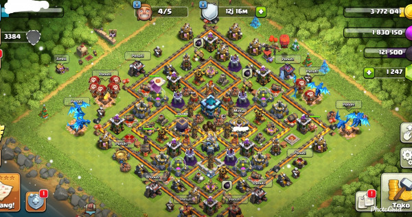New TH13 Eagle Max Troop GG Hero 32/42/12