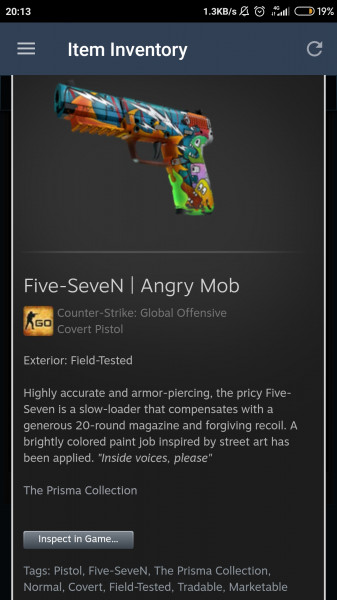 Five-SeveN | Angry Mob (FT)