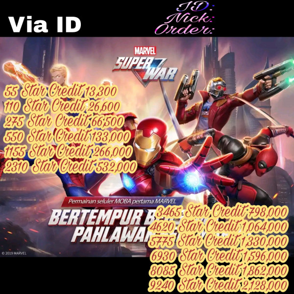 110 Star Credits