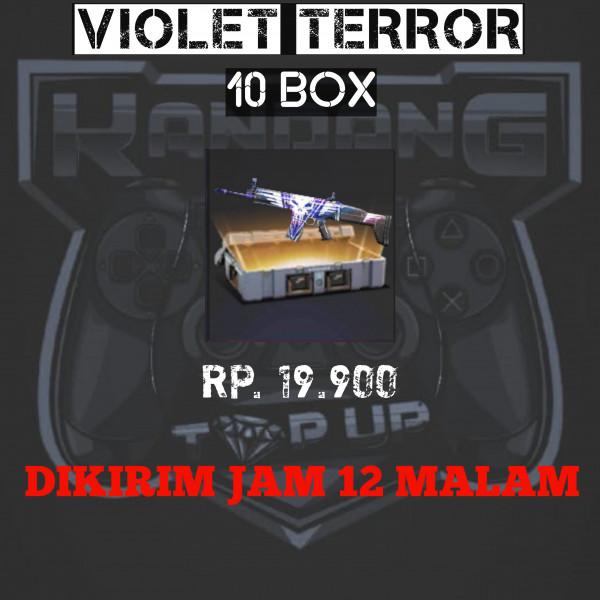 VIOLET TERROR 10 BOX