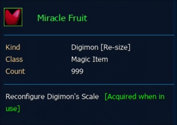 Miracle Fruit (Red) 999 Pcs