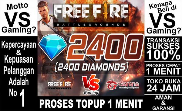 2400 Diamonds