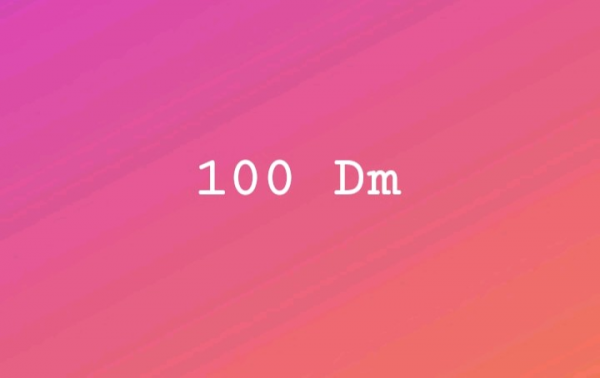 100 DM
