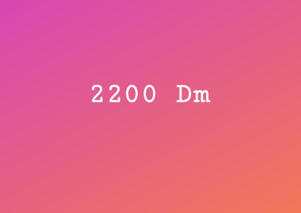 2200 DM