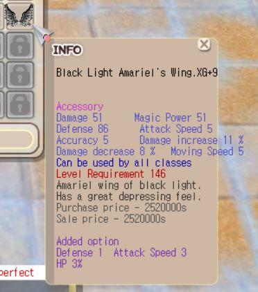 BLAW XG+9 (Hp 3%, etc)