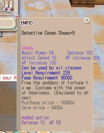 S Conan+9 (Def 10, Ap 4%)
