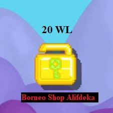 20 World Lock Borongan (20 WL)