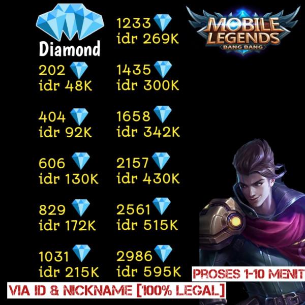 2986 Diamonds