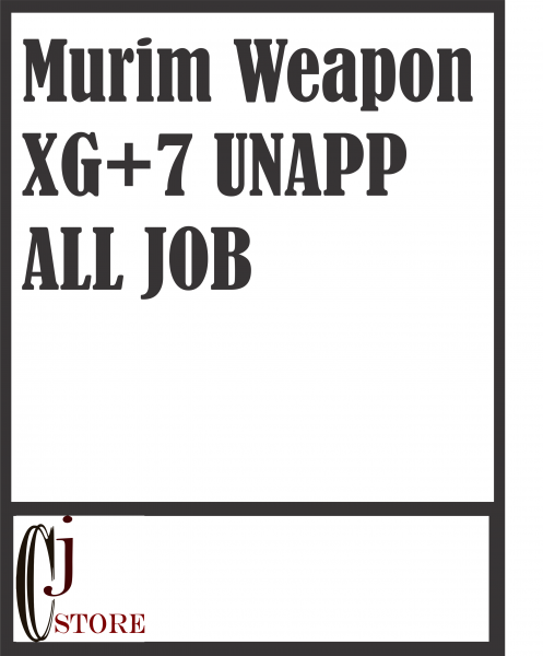 Murim All 2nd Job XG+7 unnap
