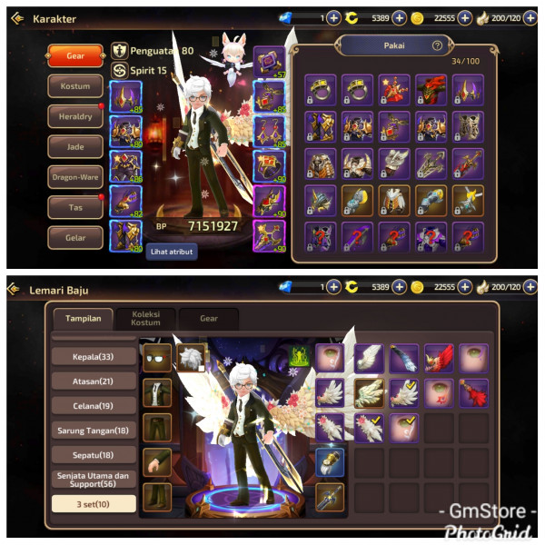 Job Warriors|Server ID8|DC 5300|3 Wings Mumer