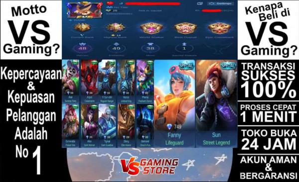 Akun Mobile Legend GG|Epic|Sultan|