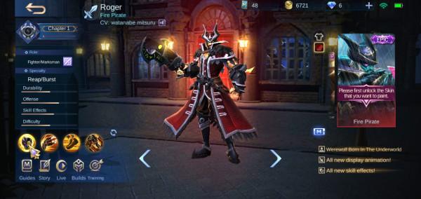 Akun Epic Cyclops Mobile Legends