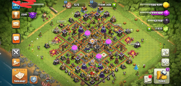 Clash of Clans TH 11Deff GG