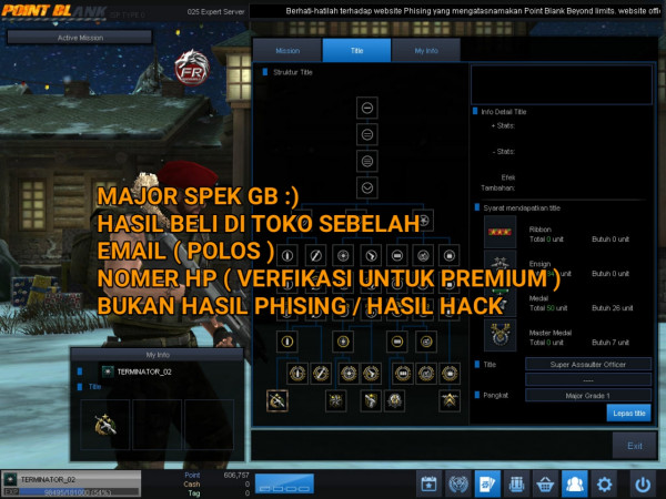 MAJOR 1 FC & FT SPEK GB