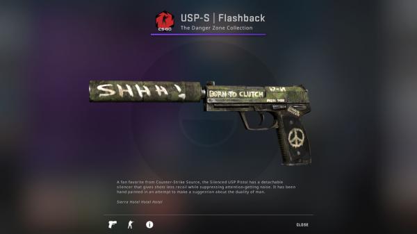 USP-S | Flashback