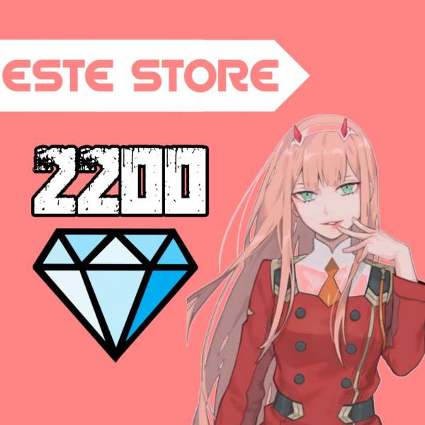 2200 Diamonds