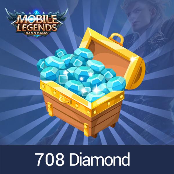 708 Diamonds Mobile legends
