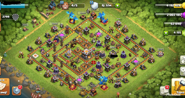 TH11 H 23/41/9 troop mantul Gems 4000