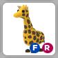 Giraffe Pet F / R - Adopt me