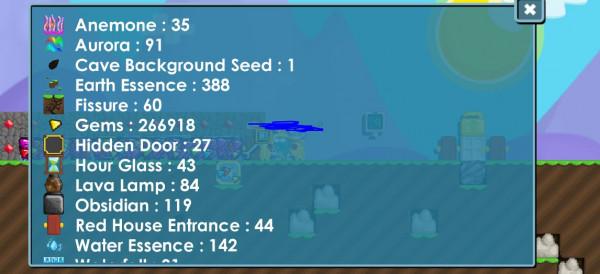 Gems 266k (World)