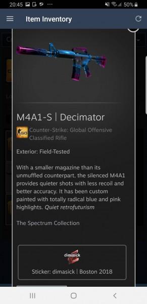 M4A1-S | Decimator (Field-Tested)