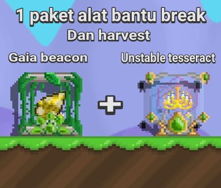 Gaia + Unstable tesseract (alat break)