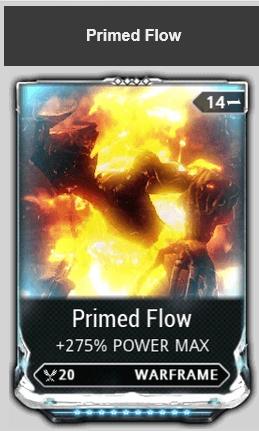 MAX Primed Flow