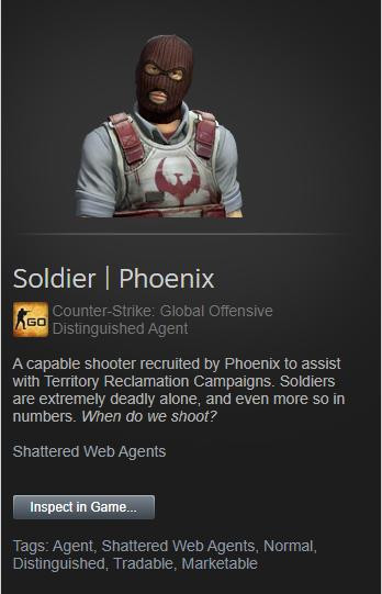 Soldier | Phoenix (Agent)