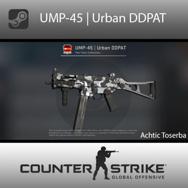 UMP-45 | Urban DDPAT (Consumer Grade SMG)
