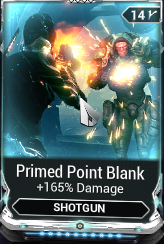 MAX Primed Point Blank