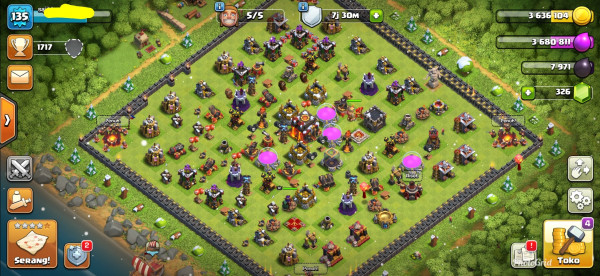 Clash Of Clans Town Hall 10 Builder 5