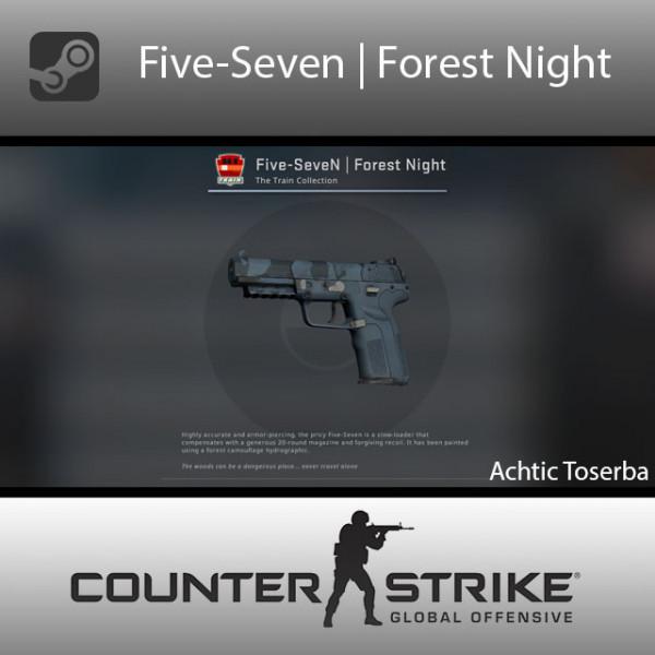 Five-SeveN | Forest Night (Consumer Grade Pistol)