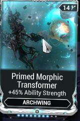 Primed Morphic Transformer R8/10
