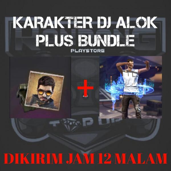 KARAKTER DJ ALOK PLUS BUNDLE