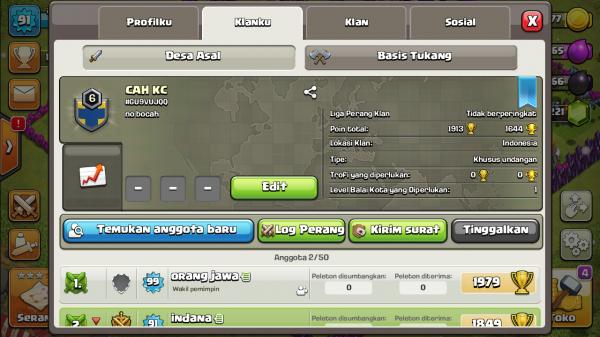 Clan Level 6 CAH KC